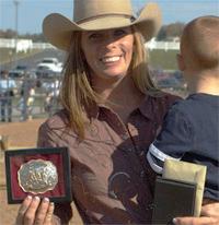 Leisha wins All-women Equine Extravaganza